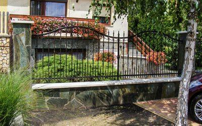 Kerítés alap…